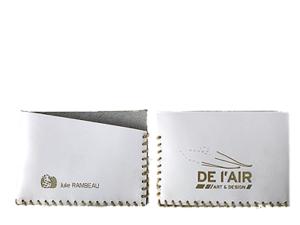 Portes-cartes en cuir personnalisés