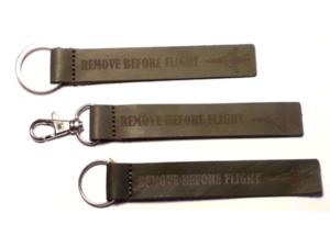 Portes-clefs en cuir personnalisés