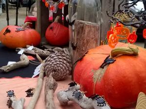 Bijoux en plexiglas Halloween