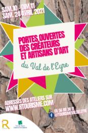 Portes ouvertes des créateurs des métiers d'art du Val de l'Eyre